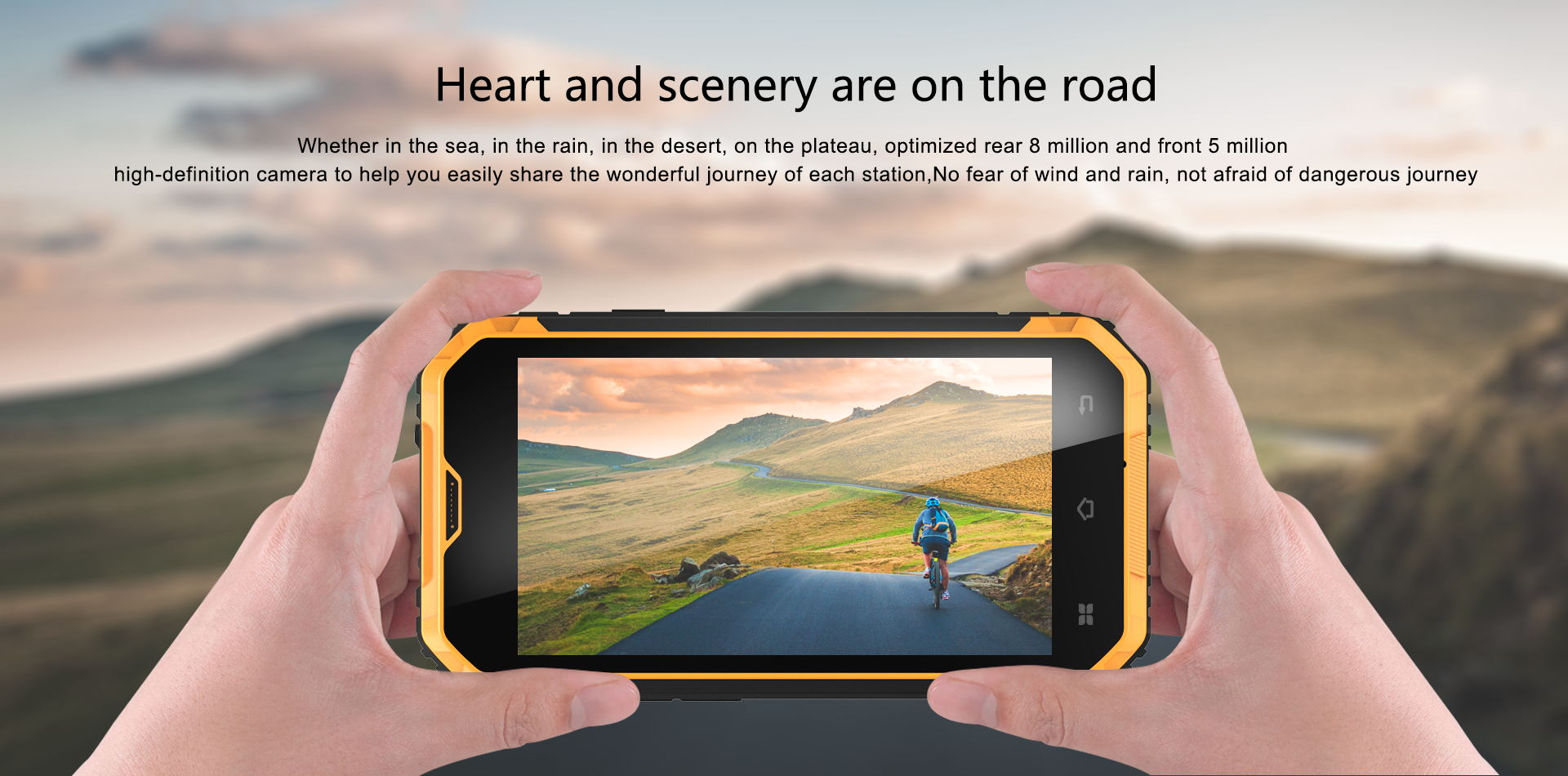 Vphone M4 rugged smartphone